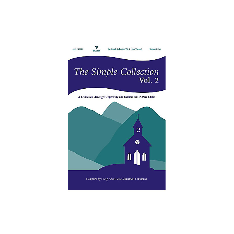 The Simple Collection, Vol  2 Choral book