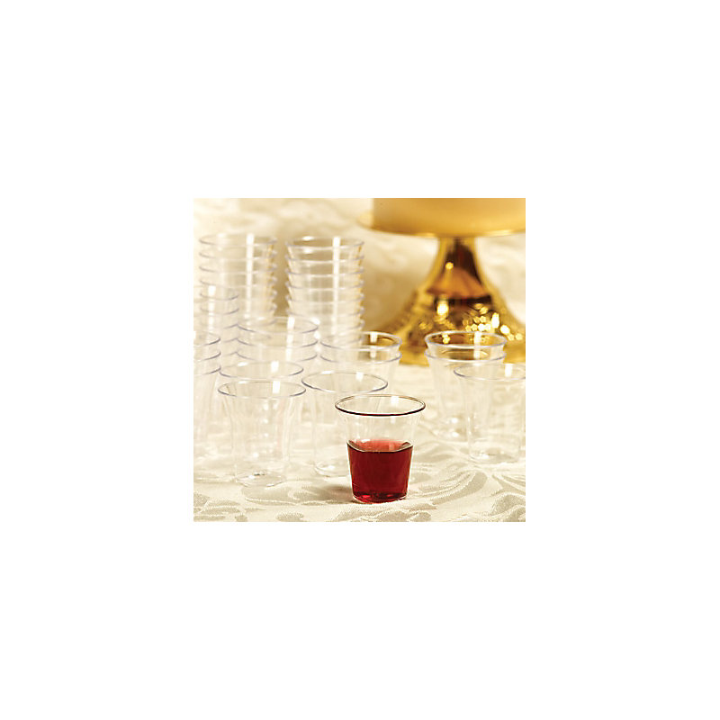 Communion Cups Plastic - 500 count