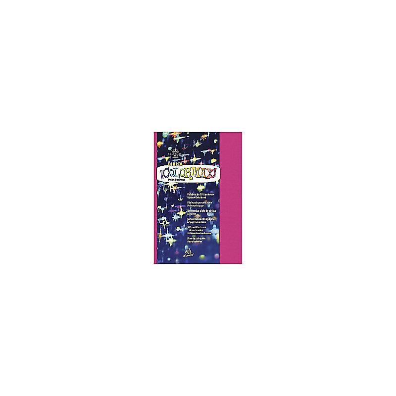 RVR 1960 Biblia Colormax rosado, dura max
