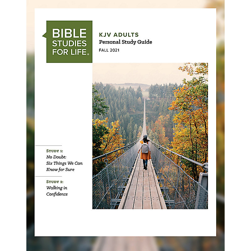 Bible Studies for Life: KJV Adult Personal Study Guide - Fall 2021