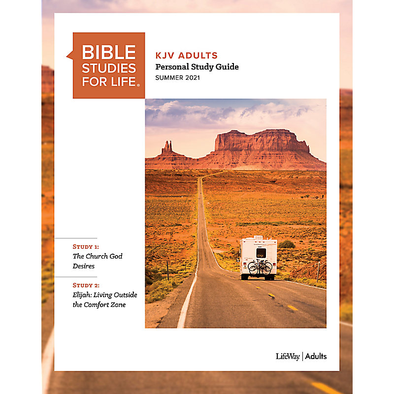 Bible Studies for Life: KJV Adult Personal Study Guide - Summer 2021