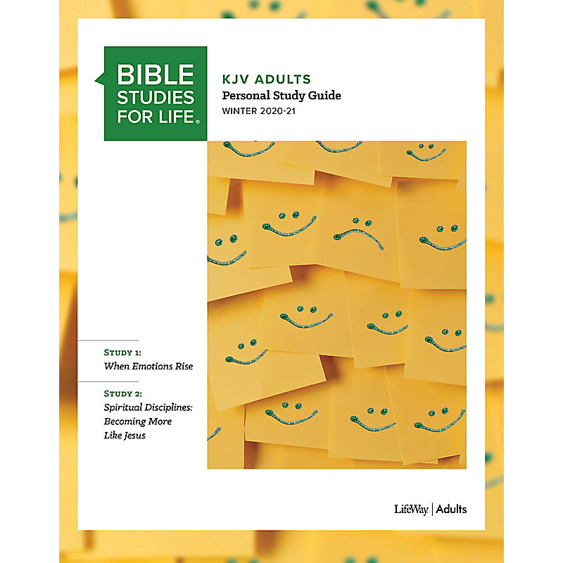 Bible Studies for Life: KJV Adult Personal Study Guide - Winter 2021