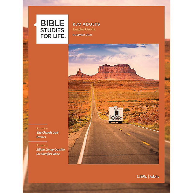 Bible Studies for Life: KJV Adult Leader Guide - Summer 2021