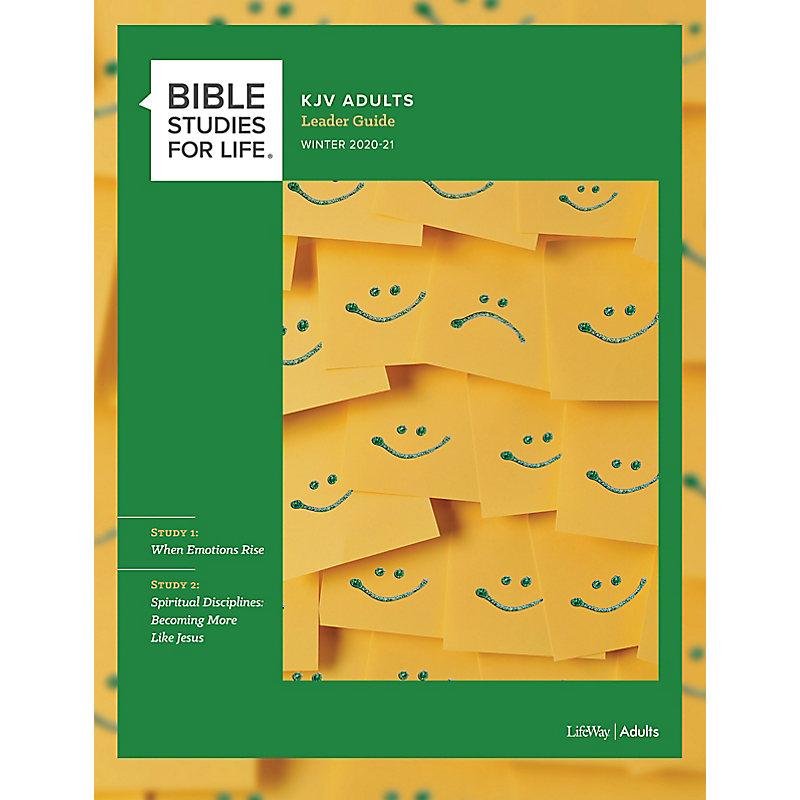 Bible Studies for Life: KJV Adult Leader Guide - Winter 2021