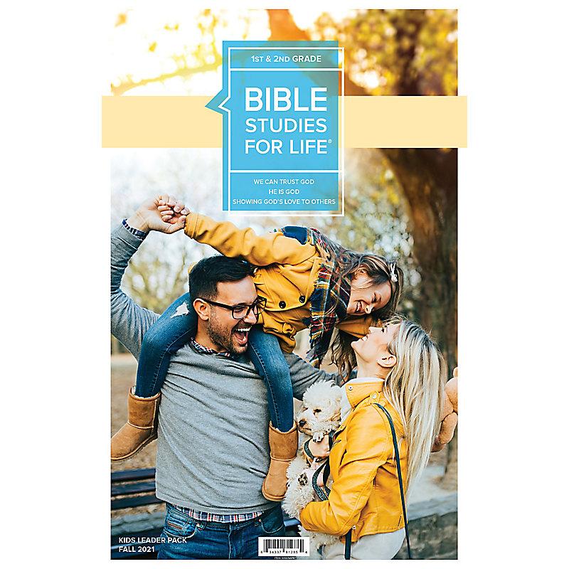 Bible Studies For Life: Kids Grades 1-2 Leader Pack Fall 2021