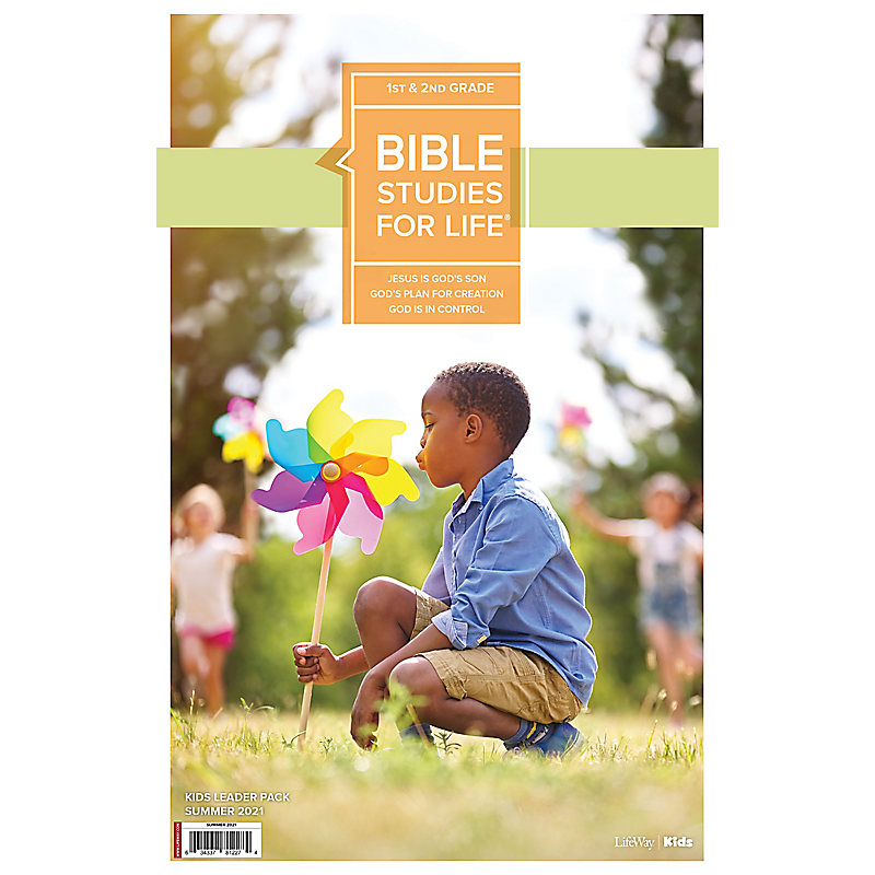 Bible Studies For Life: Kids Grades 1-2 Leader Pack Summer 2021