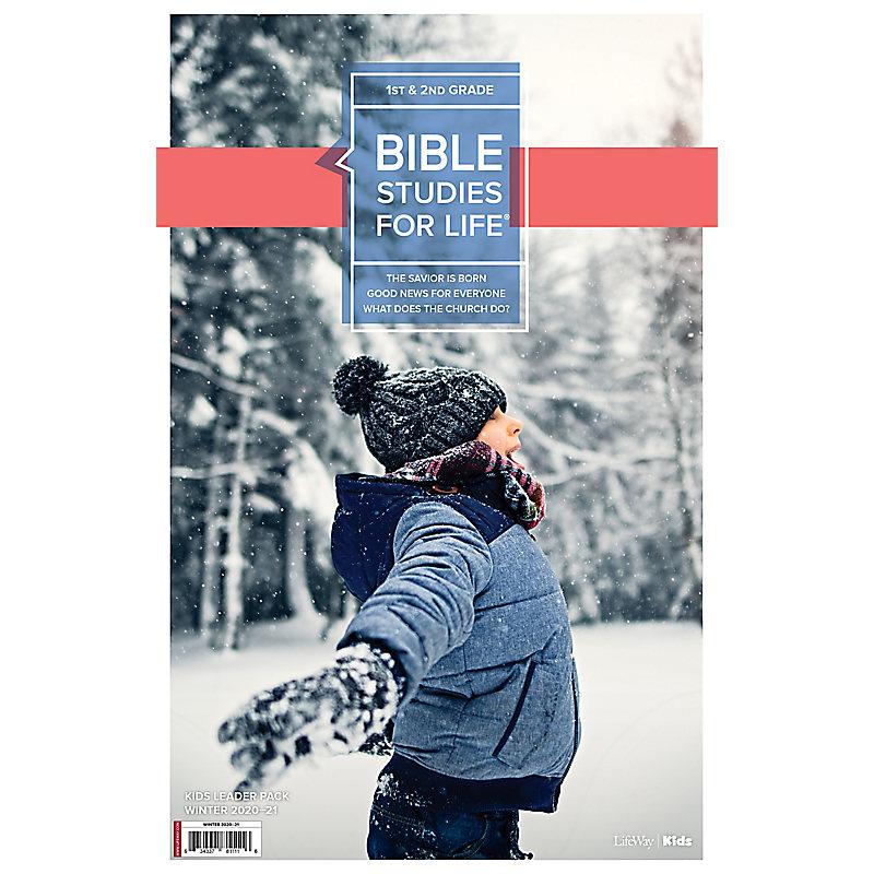 Bible Studies for Life: Kids Grades 1-2 Leader Pack Winter 2021