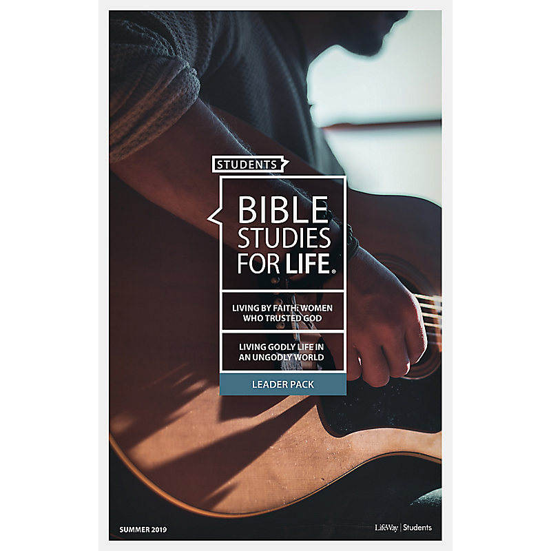 Bible Studies for Life: Students Leader Pack - Summer 2019