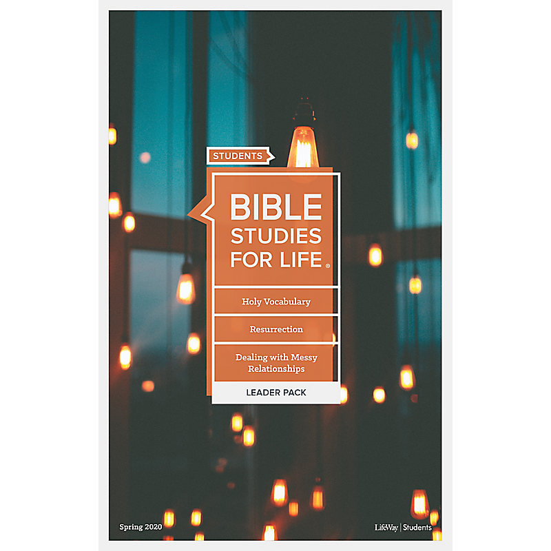 Bible Studies for Life: Students Leader Pack - Spring 2020