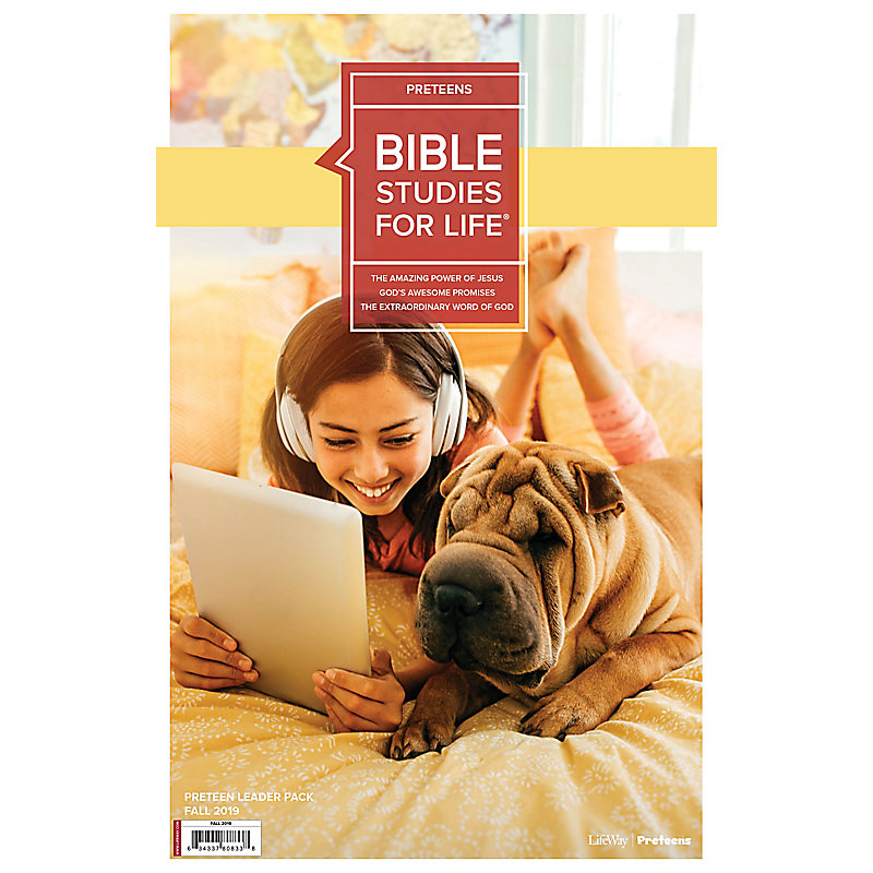 Bible Studies For Life: Preteens Leader Pack Fall 2019