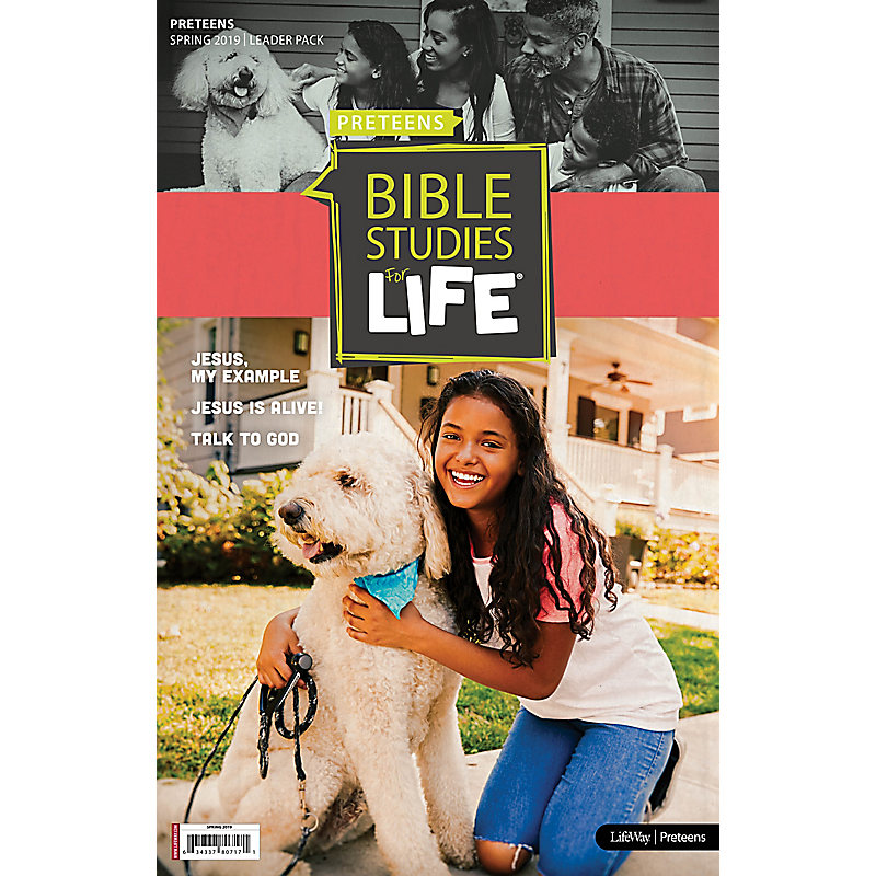 Bible Studies For Life: Preteens Leader Pack Spring 2019