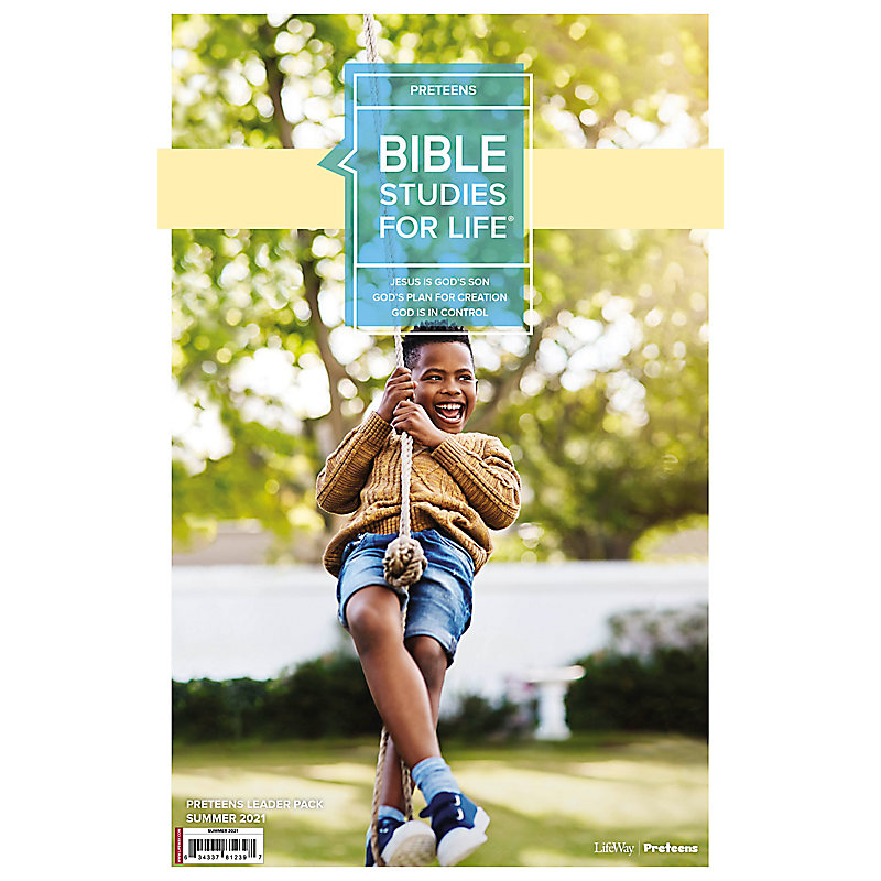 Bible Studies For Life: Preteens Leader Pack Summer 2021