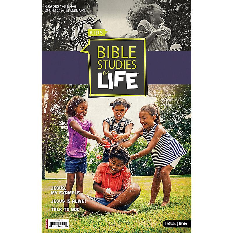 Bible Studies For Life: Kids Grades 1-3 & 4-6 Leader Pack - CSB/KJV Spring 2019