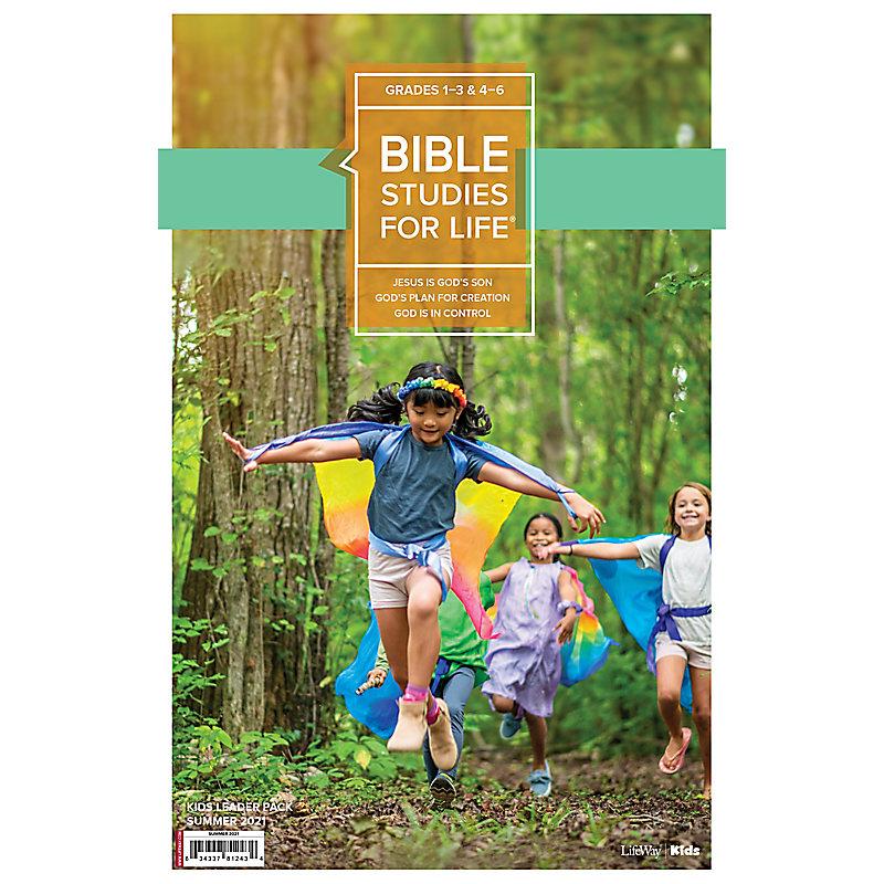 Bible Studies For Life: Kids Grades 1-3 & 4-6 Leader Pack - CSB/KJV Summer 2021