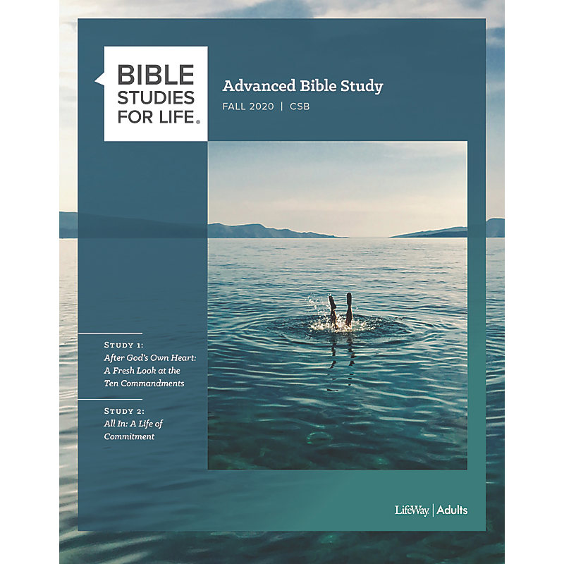 Bible Studies for Life: Advanced Bible Study - Fall 2020