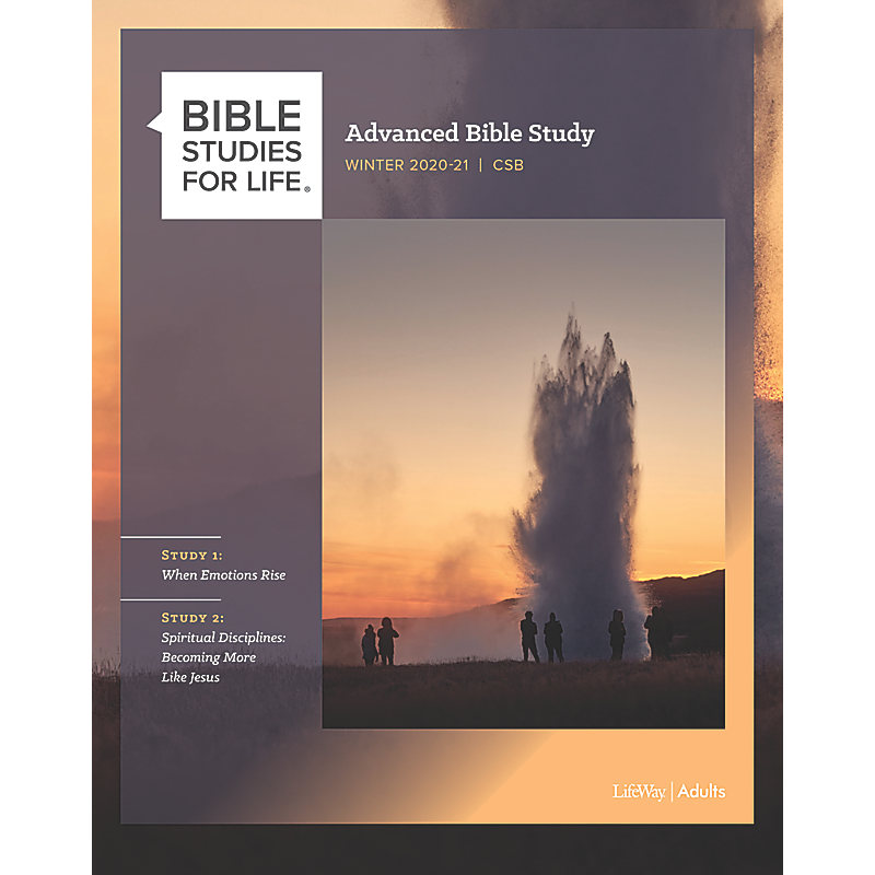 Bible Studies for Life: Advanced Bible Study - Winter 2021