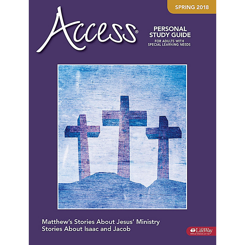 Access Personal Study Guide - Spring 2018