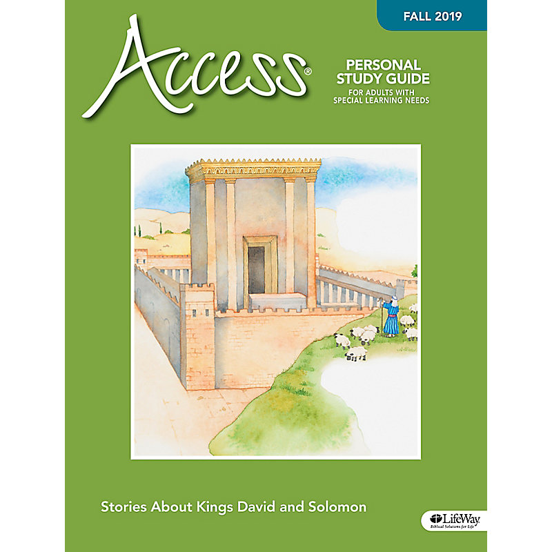 Access Personal Study Guide - Fall 2019