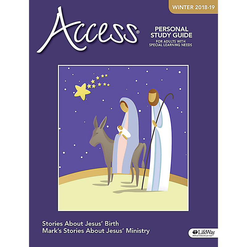 Access Personal Study Guide - Winter 2019