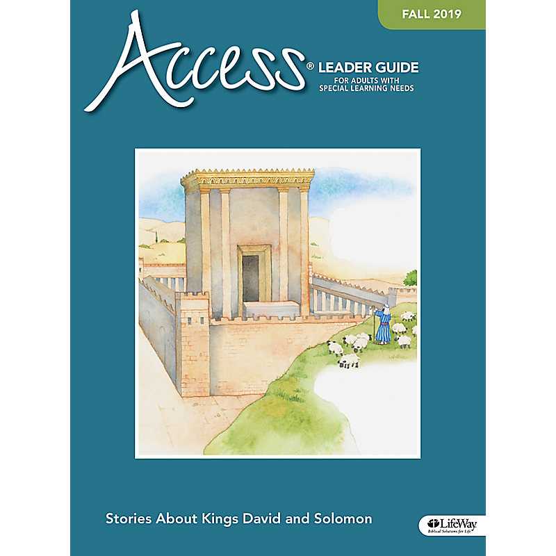Access Leader Guide -  Fall 2019