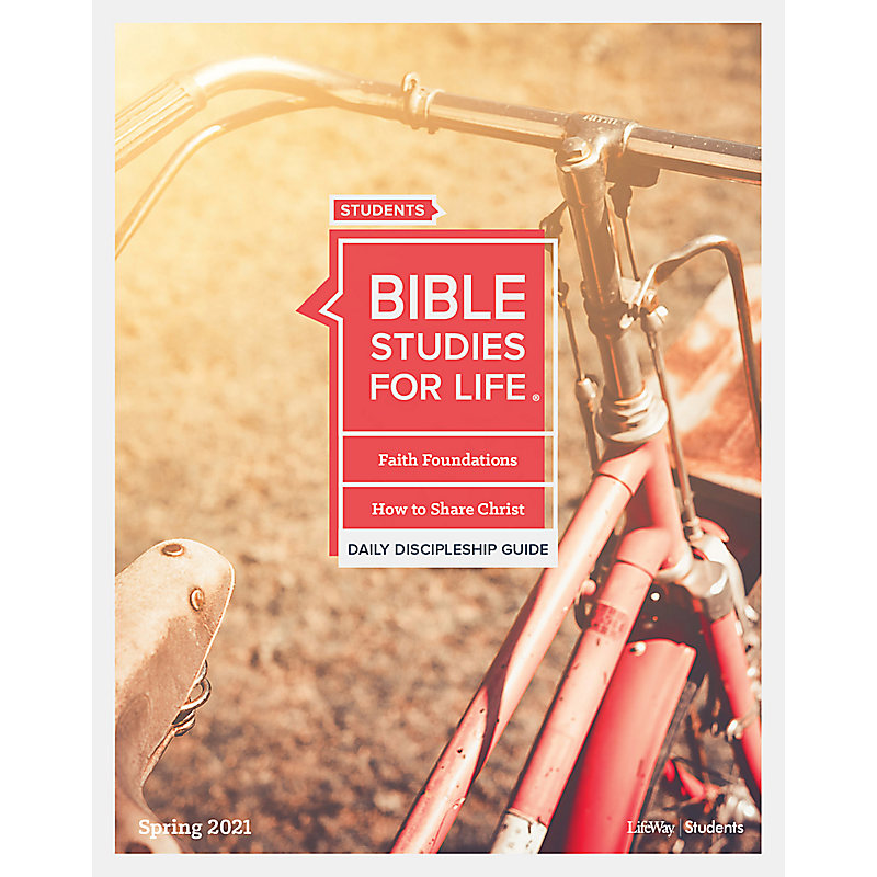 Bible Studies for Life: Students - Daily Discipleship Guide -CSB - Spring 2021