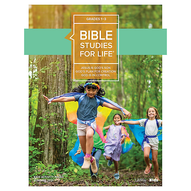 Bible Studies For Life: Kids Grades 1-3 Activity Pages CSB/KJV - Summer 2021