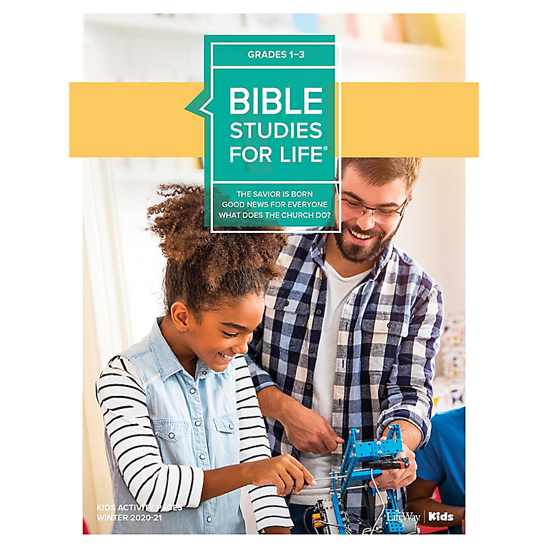 Bible Studies for Life: Kids Grades 1-3 Activity Pages CSB/KJV - Winter 2021