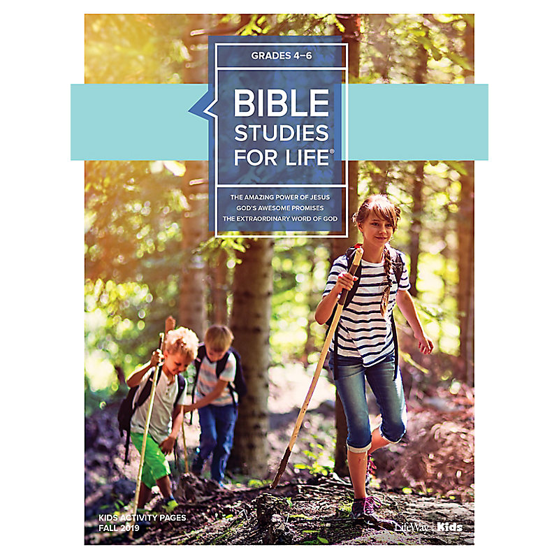 Bible Studies For Life: Kids Grades 4-6 Activity Pages - CSB/KJV - Fall 2019