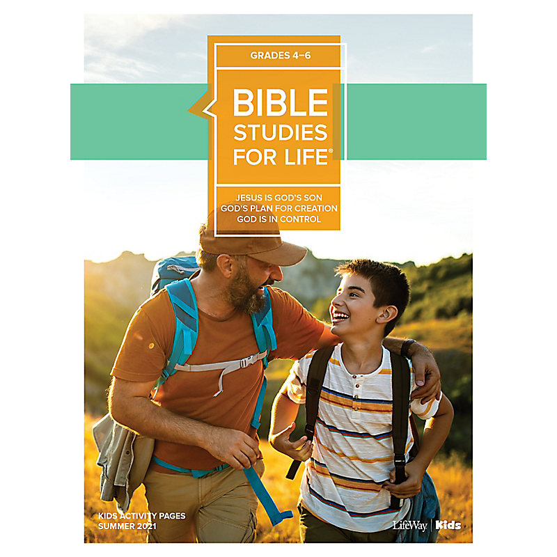 Bible Studies For Life: Kids Grades 4-6 Activity Pages - CSB/KJV - Summer 2021