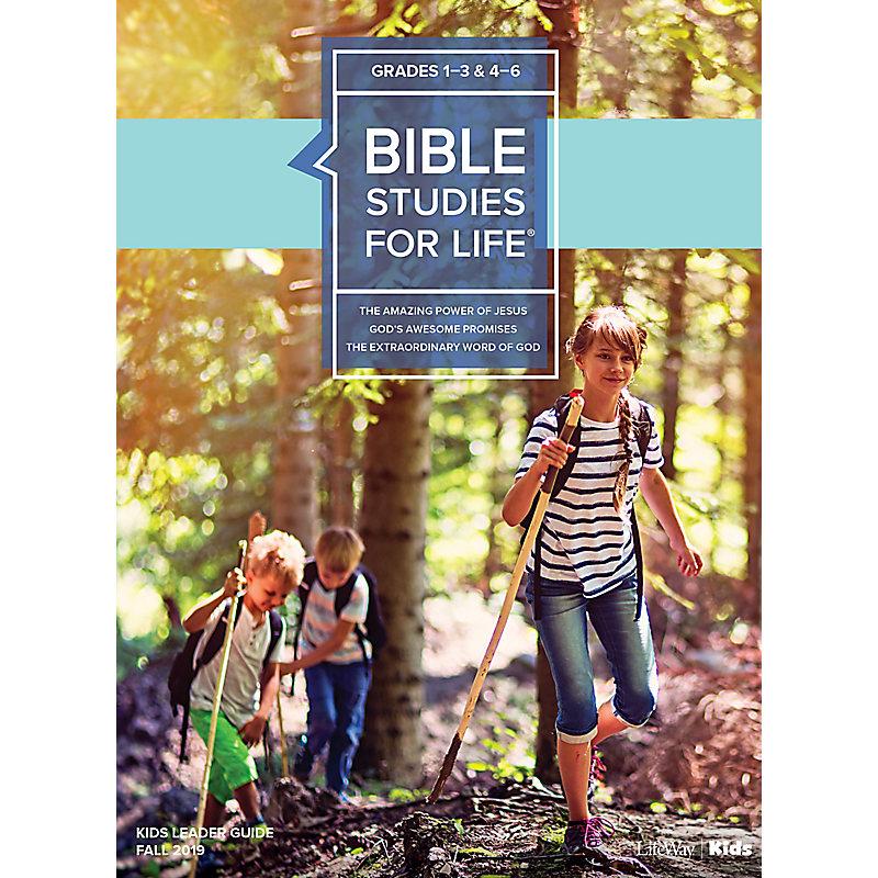 Bible Studies For Life: Kids Grades 1-3 & 4-6 Leader Guide - CSB/KJV Fall 2019
