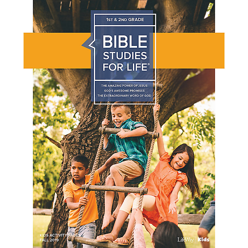 Bible Studies For Life: Kids Grades 1-2 Kids Activity Pages - CSB - Fall 2019