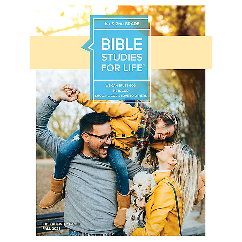 Bible Studies For Life: Kids Grades 1-2 Kids Activity Pages - CSB - Fall 2021