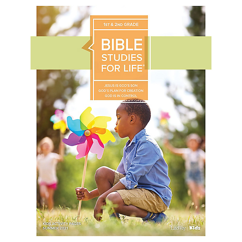 Bible Studies For Life: Kids Grades 1-2 Kids Activity Pages - CSB - Summer 2021