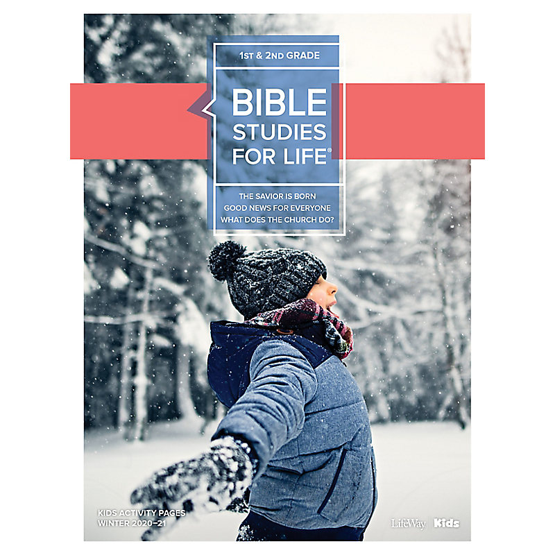 Bible Studies for Life: Kids Grades 1-2 Kids Activity Pages - CSB - Winter 2021