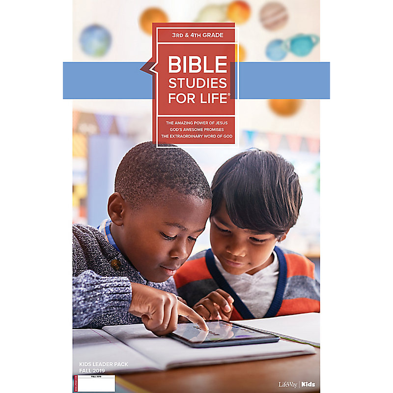 Bible Studies For Life: Kids Grades 3-4 Leader Pack Fall 2019