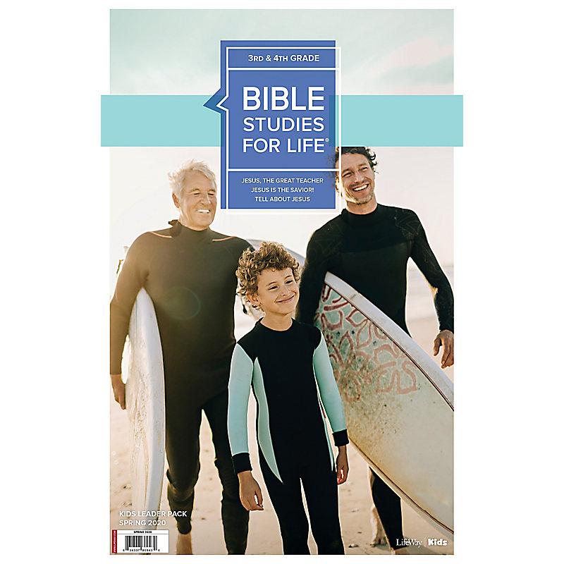 Bible Studies For Life: Kids Grades 3-4 Leader Pack Spring 2020