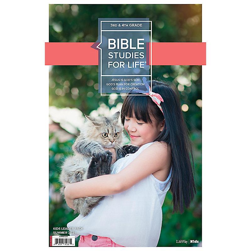 Bible Studies For Life: Kids Grades 3-4 Leader Pack Summer 2021