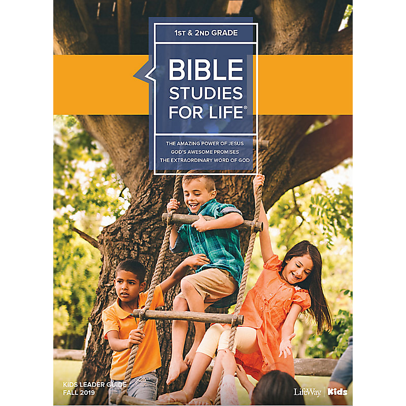 Bible Studies For Life: Kids Grades 1-2 Leader Guide - CSB - Fall 2019