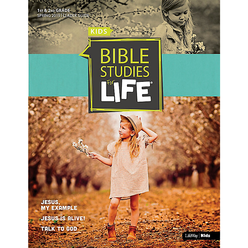 Bible Studies For Life: Kids Grades 1-2 Leader Guide - CSB - Spring 2019