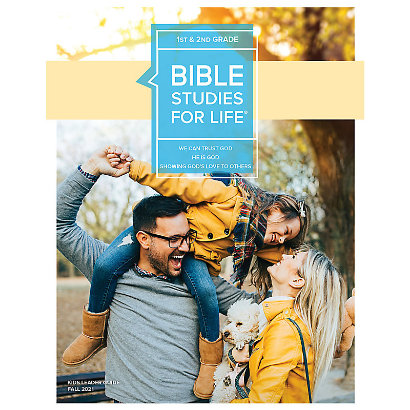 Bible Studies For Life: Kids Grades 1-2 Leader Guide - CSB - Fall 2021