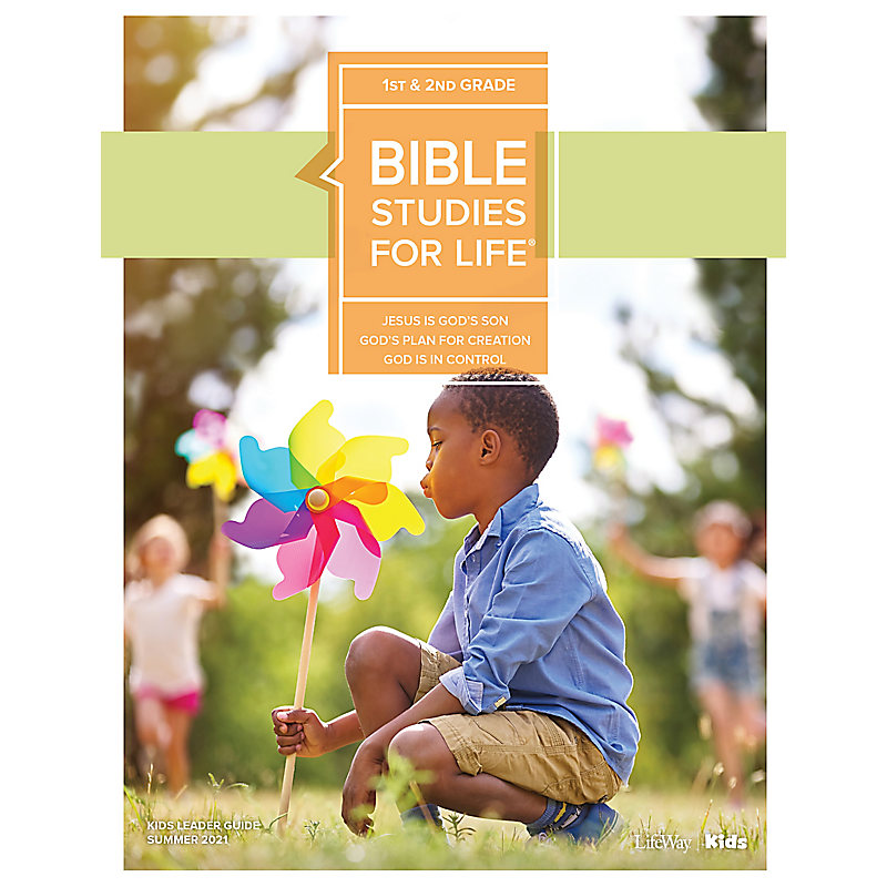 Bible Studies For Life: Kids Grades 1-2 Leader Guide - CSB - Summer 2021