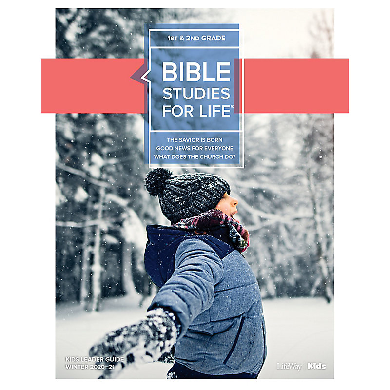 Bible Studies for Life: Kids Grades 1-2 Leader Guide - CSB - Winter 2021