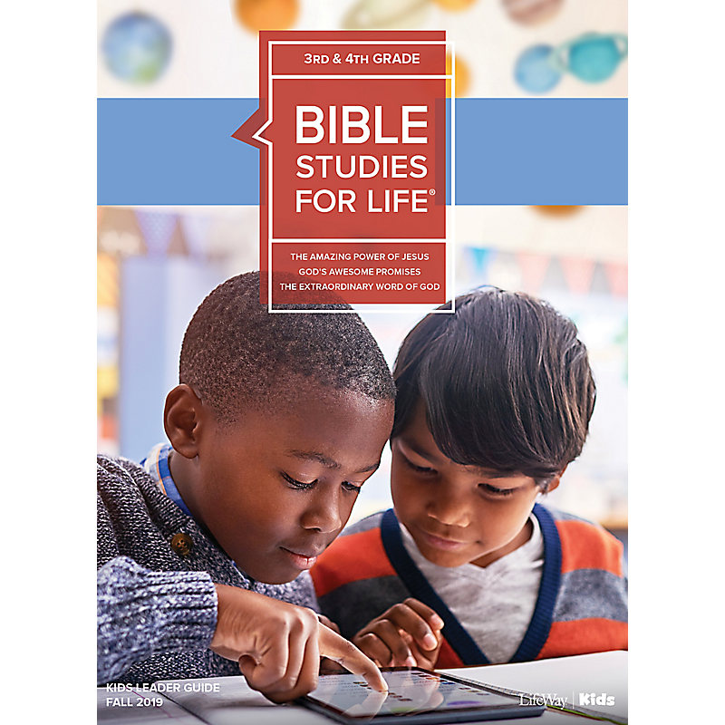 Bible Studies For Life: Kids Grades 3-4 Leader Guide - CSB - Fall 2019