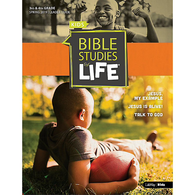 Bible Studies For Life: Kids Grades 3-4 Leader Guide - CSB - Spring 2019