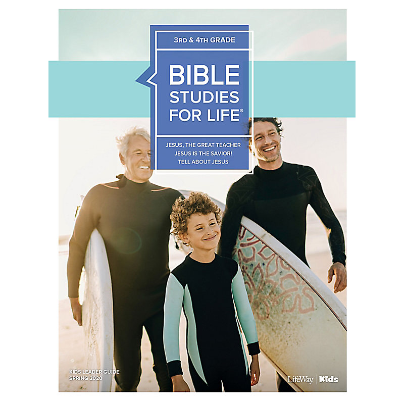Bible Studies For Life: Kids Grades 3-4 Leader Guide - CSB - Spring 2020