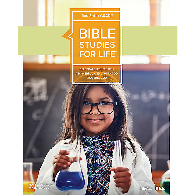 Bible Studies For Life: Kids Grades 3-4 Leader Guide - CSB - Winter 2020