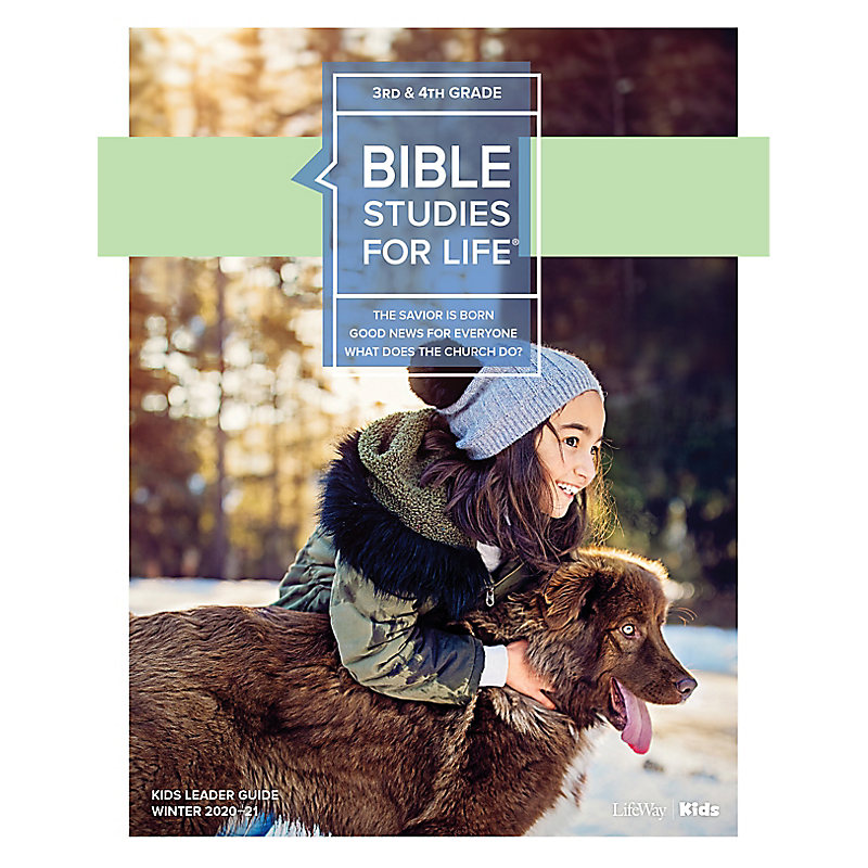Bible Studies for Life: Kids Grades 3-4 Leader Guide - CSB - Winter 2021