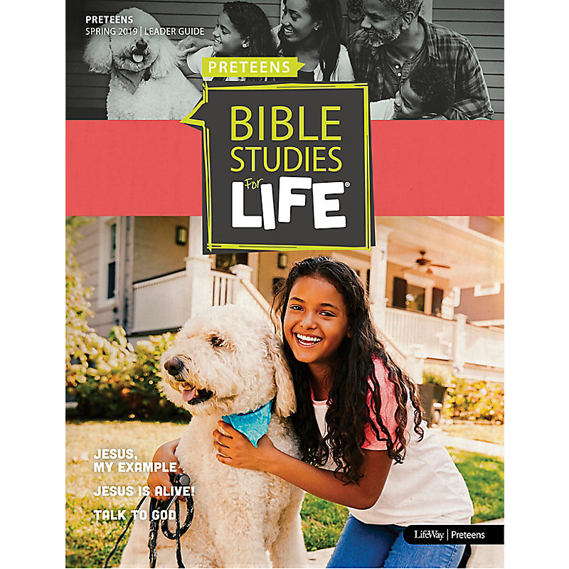 Bible Studies For Life: Preteens Leader Guide - CSB - Spring 2019