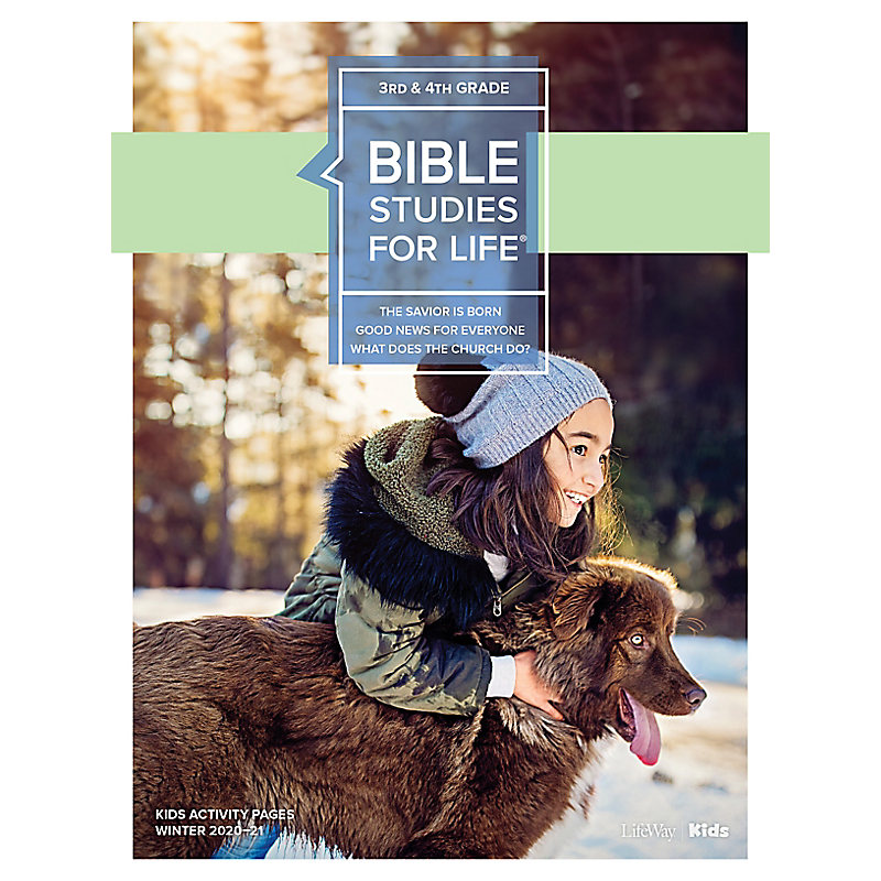 Bible Studies for Life: Kids Grades 3-4 Activity Pages - CSB - Winter 2021
