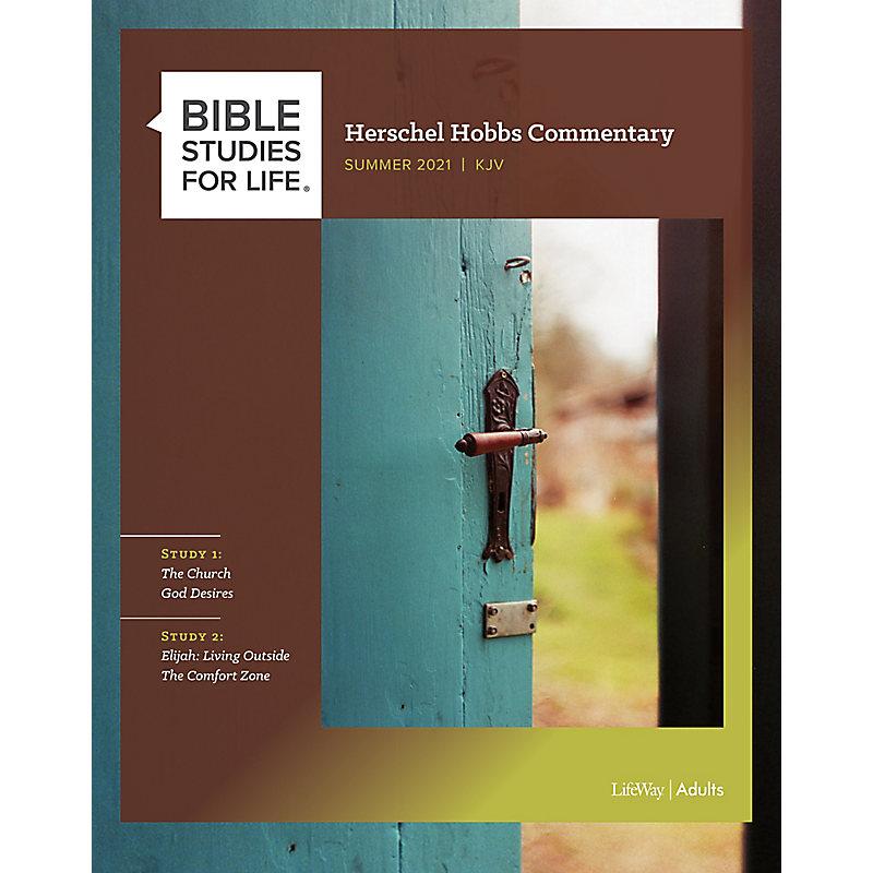 Bible Studies for Life: Herschel Hobbs Commentary - Summer 2021